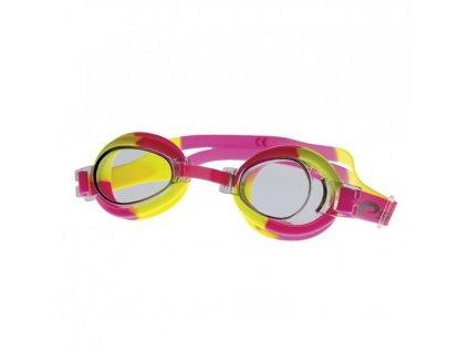 brýle dětské Spokey JELLYFISH růžovo/žluté