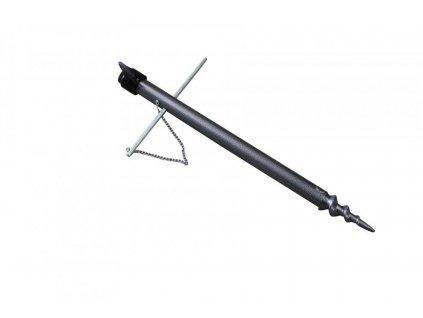 Držák na upevnění rybářského deštníku 38 cm