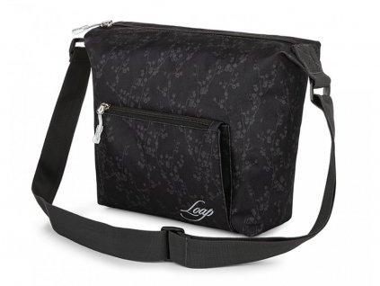 taška ladies LOAP MAJA černá
