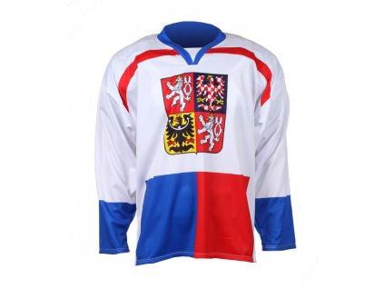 hokejový dres Replika ČR Nagano 1998 bílý BN1