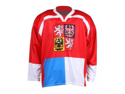 hokejový dres Replika ČR Nagano 1998 červený BN1