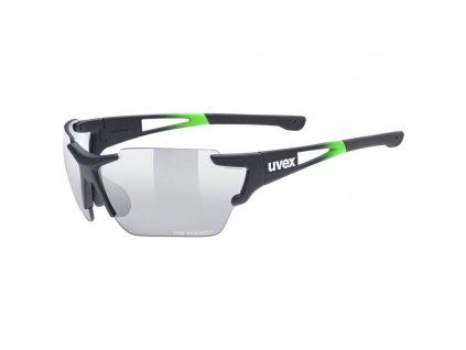 brýle UVEX Sportstyle 803 race VM černo/zelené