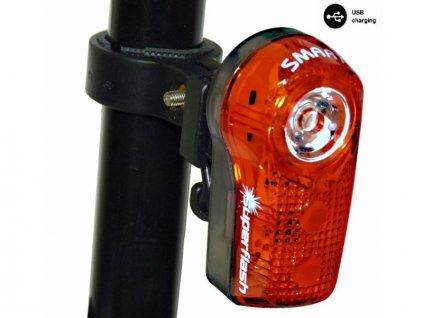 blikačka zadní SMART 317 0.5W RED LED USB