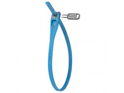 zámek Hiplok tie lock 42cm modrý