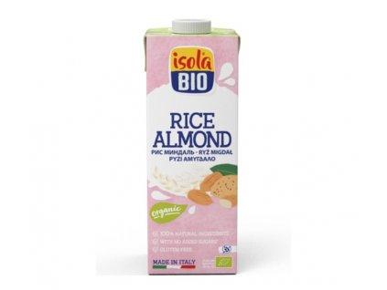 nápoj rýžový mandlový ISOLA BIO 250 ml