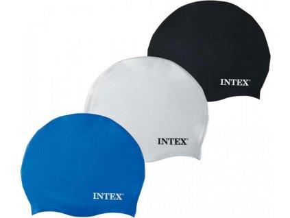 Koupací čepice Intex modrá