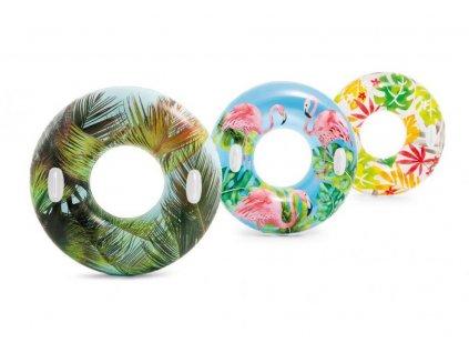 Kruh plavecký S DRŽADLY Intex 58263