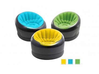 Nafukovací křeslo Intex 66582 EMPIRE chair ZELENÉ