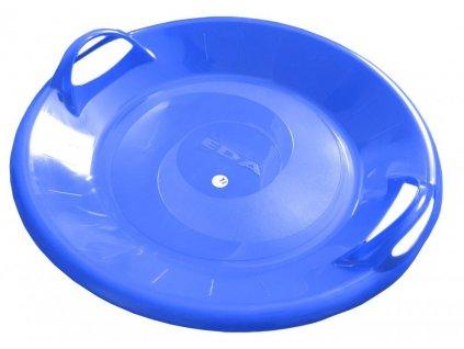 Sáňkovací talíř disk SUPER STAR- modrá