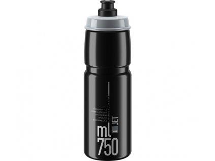 lahev ELITE Jet Clear černá-šedá 750 ml