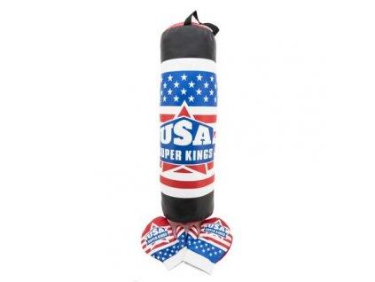 Boxing Set USA boxovací pytel