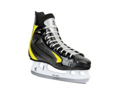 Hokejové brusle BOTAS FALLON velikost 42 černo/žlutá