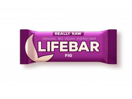 tyčinka Lifefood Lifebar Bio Raw fíková exp.03/21