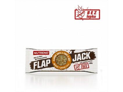 tyčinka Nutrend FLAPJACK GLUTEN FREE meruňka+pekanový ořech