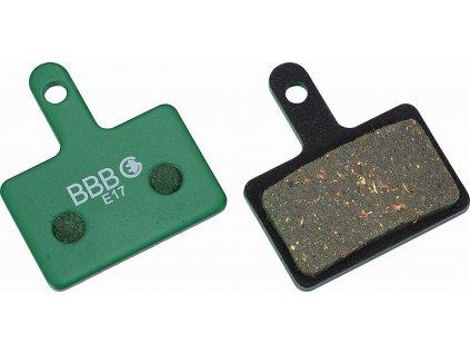 brzdové destičky BBB BBS-53E Shimano Deore M575,..servisní balení