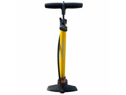 hustilka BETO moto Fe+manometr žlutá