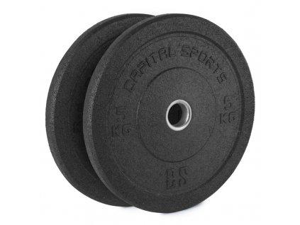 Gumový kotouč Capital Sports Renit 2 x 5 kg