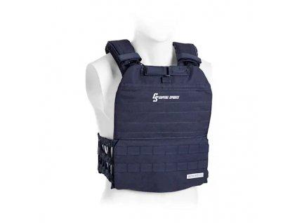 Zátěžová vesta Capital Sports Battlevest 2.0 2 x 4 kg - modrá
