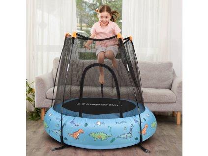 Dětská nafukovací trampolína inSPORTline Nufino 120 cm