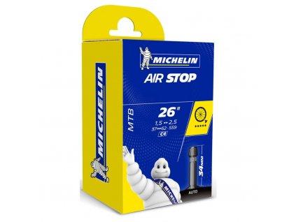 "duše MICHELIN AIR STOP 26""x1.50/2.5 (37/62-559) AV/34mm"