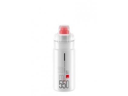 lahev ELITE Jet  Plus 21´ čirá/červené logo 550 ml