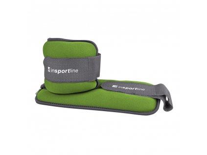 Neoprenové závaží inSPORTline Lastry 2x1 kg na kotník/zápěstí
