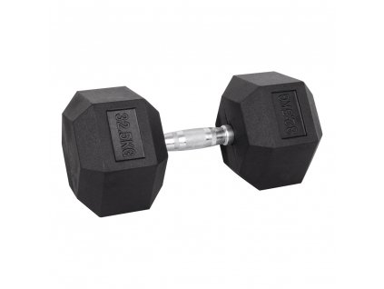 Šestihranná činka inSPORTline Hexsteel 32,5 kg