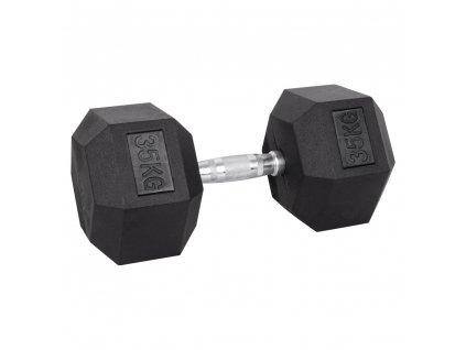Šestihranná činka inSPORTline Hexsteel 35 kg