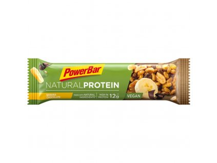 Tyčinka PowerBar NATURAL PROTEIN vegan banán a čokoláda 40g