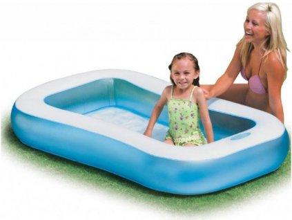 Bazén INTEX 57403 nafukovací dětský BABY POOL 166x100 BN1