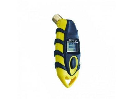 měřič tlaku BETO digitální žlutý BN1