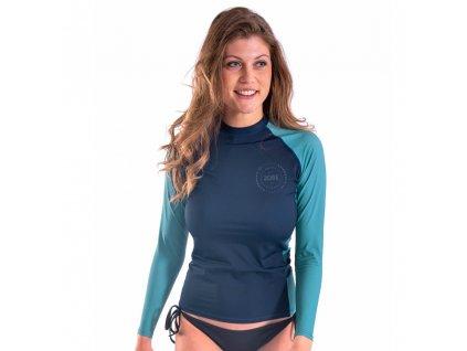 Dámské tričko pro vodní sporty Jobe Rashguard s dlouhým rukávem