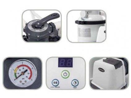 Bazénová písková filtrace INTEX 26648 8m3/h