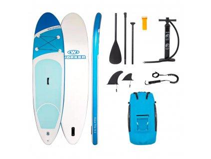 """Paddleboard s příslušenstvím WORKER WaveTrip 10'6"""""""