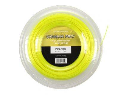 Polaris tenisový výplet 200 m žlutá průměr 1,15