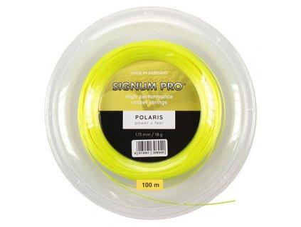 Polaris 100 tenisový výplet 100 m žlutá průměr 1,15