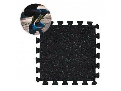 Zátěžová podložka inSPORTline Puzeko 64x64x1 cm