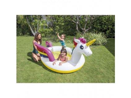 Bazén nafukovací dětský Intex 57441 Jednorožec 272x193x104 cm BN1
