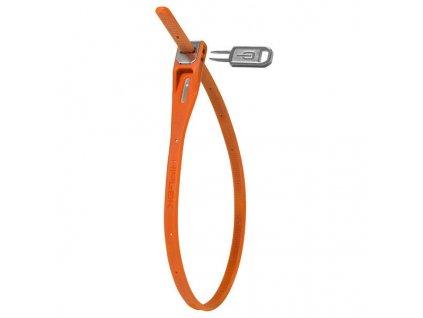 zámek Hiplok tie lock 42cm oranžový BN1