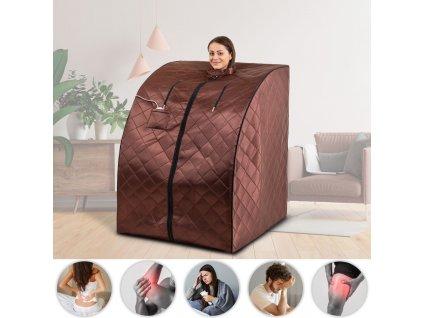 Přenosná infra sauna inSPORTline Mufera