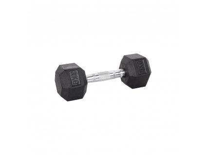 Šestihranná činka inSPORTline Hexsteel 3 kg