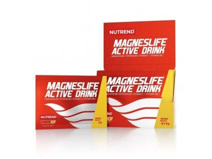 Nápoj Nutrend MagnesLife Active Drink 10x15 g citron BN1