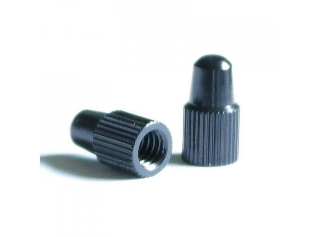 Čepička galuskového ventilku alu, černá, 0,4g