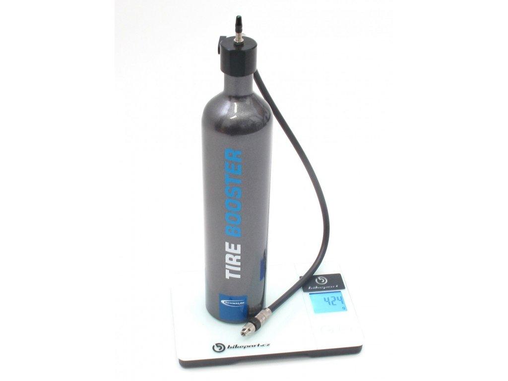 Tlaková pumpa Schwalbe TIRE BOOSTER, 1,15L