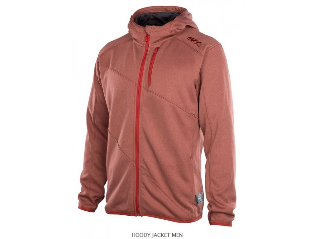 Mikina Evoc HOODY JACKET MEN, Chili Red