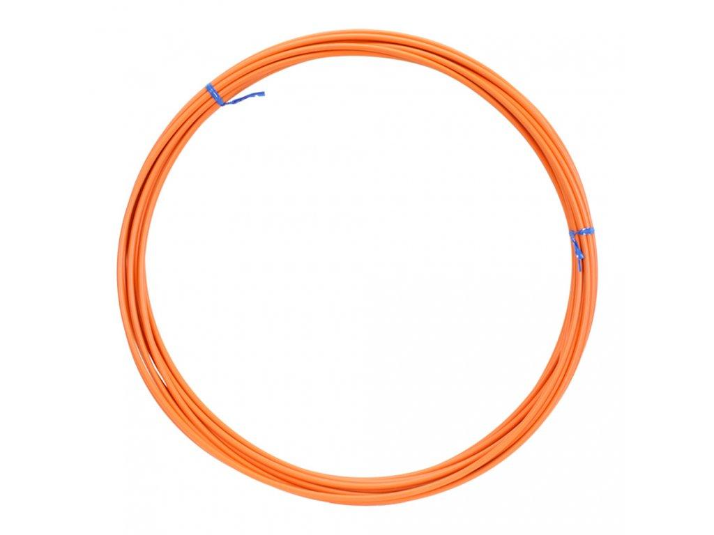 Bowden řadící 4mm oranžový, 1m, 55g