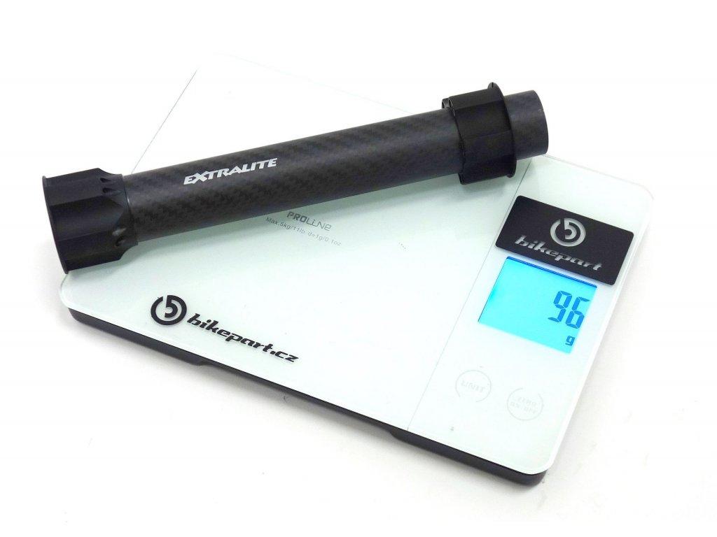 Karbonový krk EXTRALITE LeftyLite Steerer 1 1/8 pro Cannondale Lefty 1.0 | 2.0 | Supermax, 96g