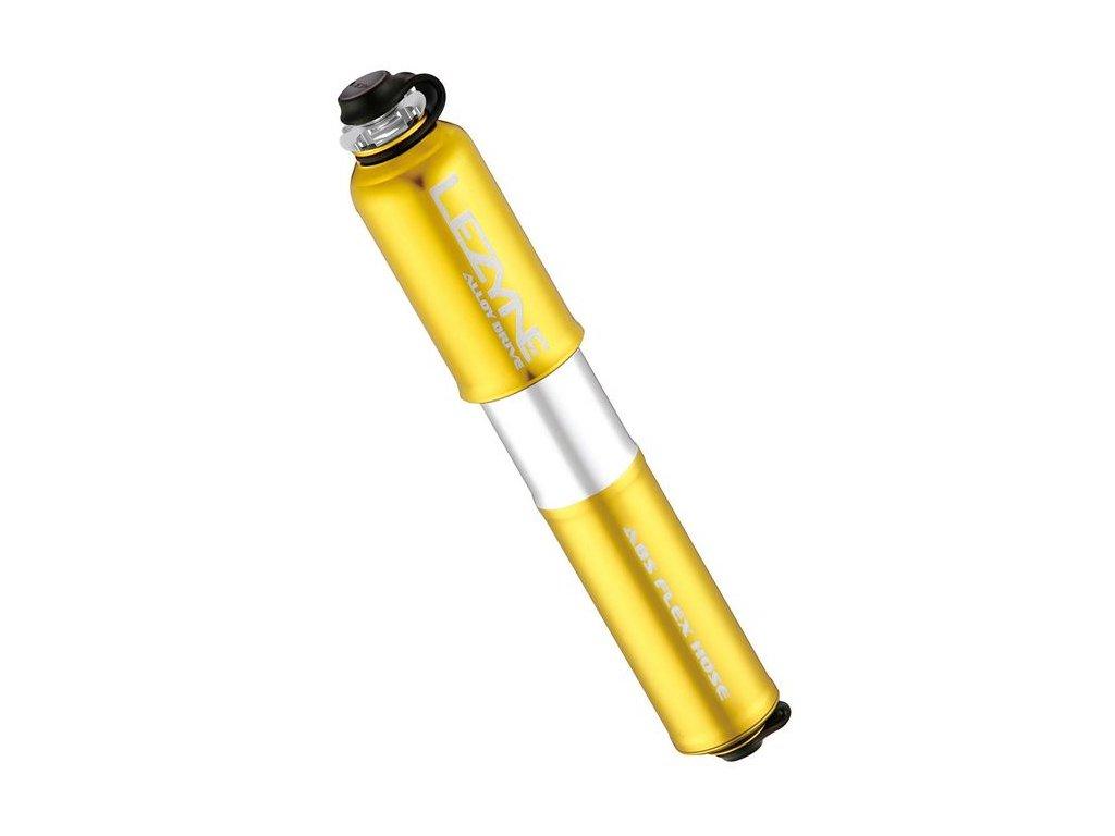 Pumpa Lezyne Alloy Drive - small, zlatá, 112g