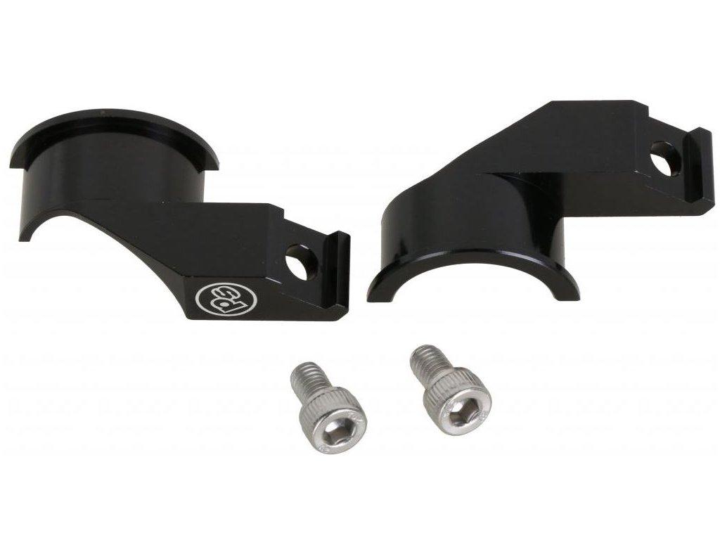 Adaptéry PROBLEM SOLVERS MisMatch Adapter 1.2 pravý + levý, Shimano I-Spec II brzdy pro SRAM řazení, 22g