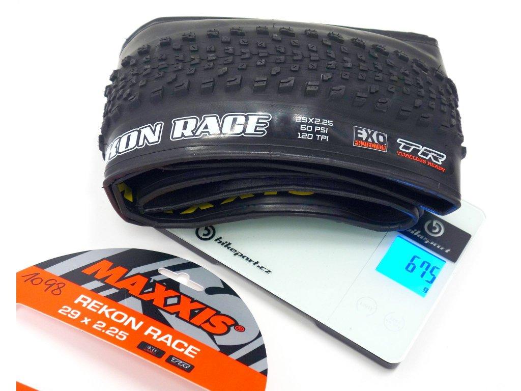Plášť Maxxis Rekon Race 29er, 2.25, Dual, TR + EXO, 675g